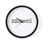 HBNooo Wall Clock