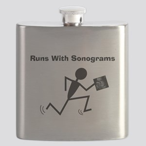 Sonographer Ultrasound Tech Flask