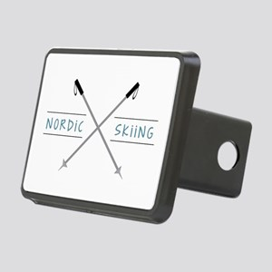 Nordic Skiing Hitch Cover