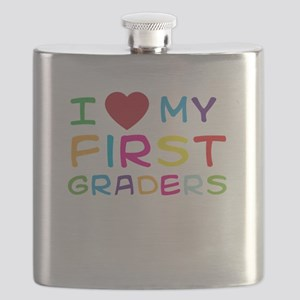 I love my first graders Flask