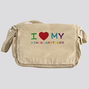 I love my kindergartners Messenger Bag