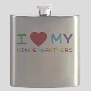 I love my kindergartners Flask