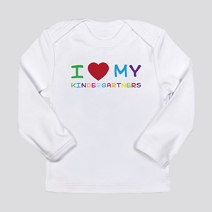 I love my kindergartners Long Sleeve T-Shirt
