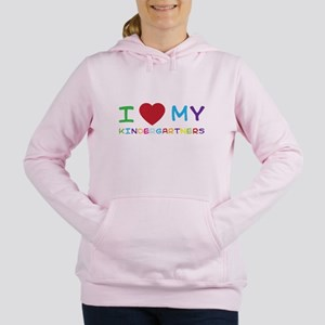 I love my kindergartners Women's Hooded Sweatshirt