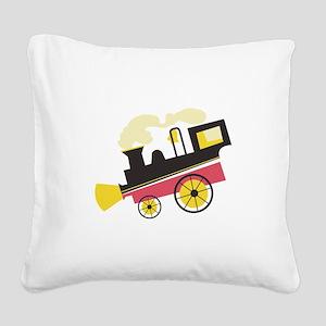 Classic Loco Square Canvas Pillow