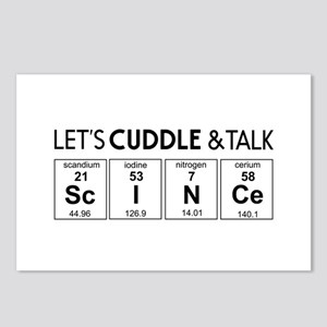 Let's cuddle & talk science Postcards (Package of