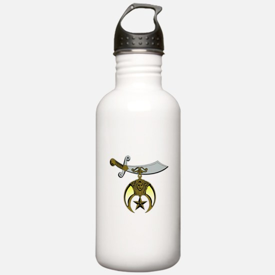 Funny Shriners Water Bottle