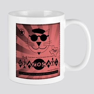 Spazocat Smooth Jazz Texas Mug Mugs