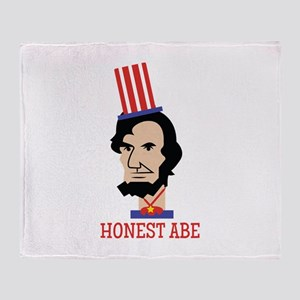 Honest ABE Throw Blanket