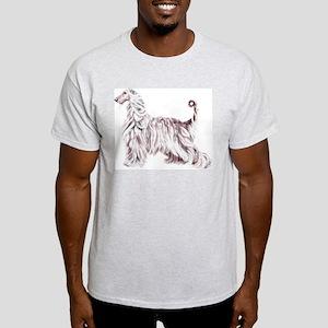 Afghan Hound Elegance Light T-Shirt