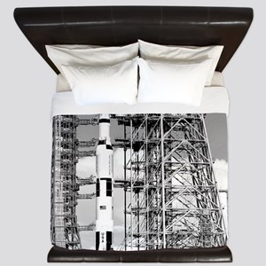 Saturn V King Duvet