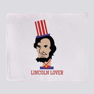Lincoln Lover Throw Blanket
