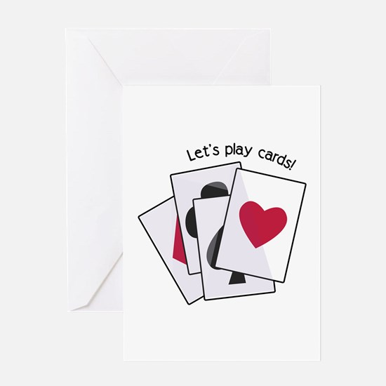 Let's Play Cards! Greeting Cards