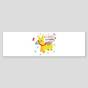 Candy Smuggler Bumper Sticker