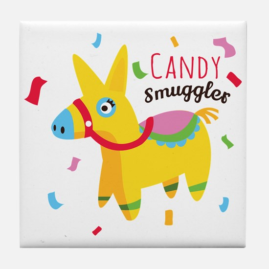 Candy Smuggler Tile Coaster