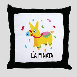 La Pinata Throw Pillow