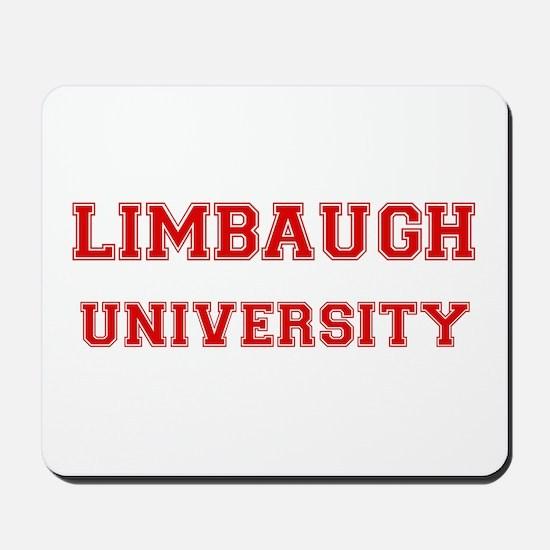 LIMBAUGH UNIVERSITY Mousepad