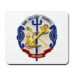 USS HALSEY POWELL Mousepad