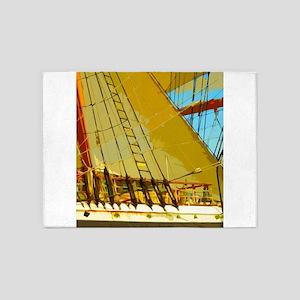 Ship Ahoy 5'x7'Area Rug