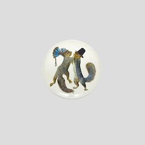 Dancing Squirrel Mini Button