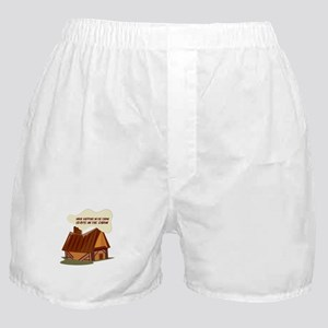 In The Cabin Boxer Shorts
