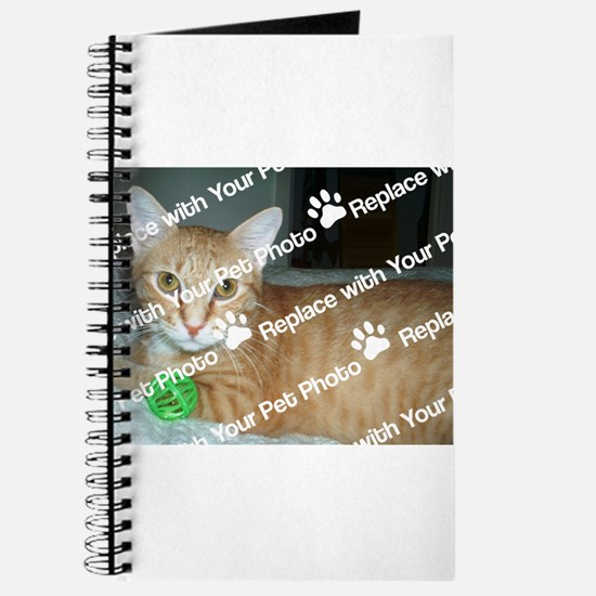 CUSTOMIZE With Your Pet Photo Journal
