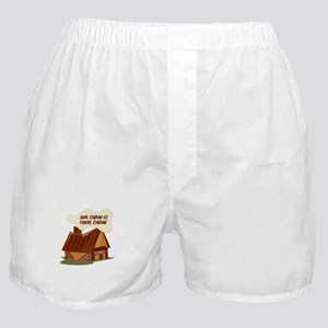 Our Cabin Boxer Shorts