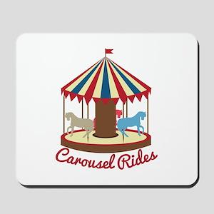 Carousel Rides Mousepad