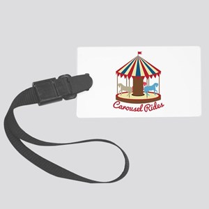 Carousel Rides Luggage Tag