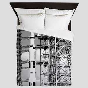 Saturn V Queen Duvet