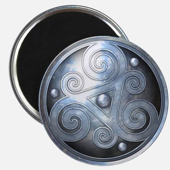 """Celtic Double Triskelion - 2.25"""" Magnet (10 pack)"""