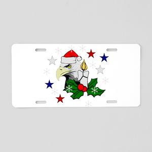 Christmas American Eagle Aluminum License Plate