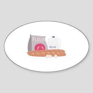 Flour & Milk Sticker
