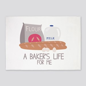 A Bakers Life 5'x7'Area Rug