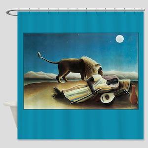 Henri Rousseau Sleeping Gypsy Shower Curtain