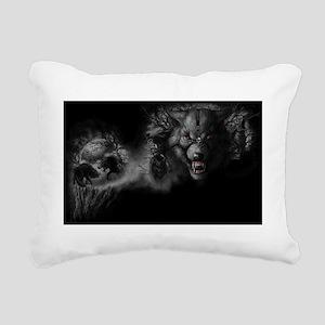 werewolf Rectangular Canvas Pillow