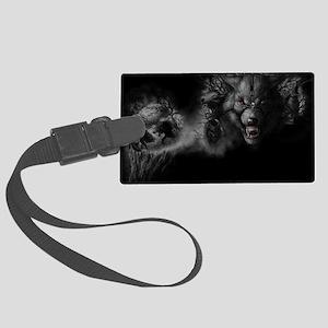 werewolf Large Luggage Tag