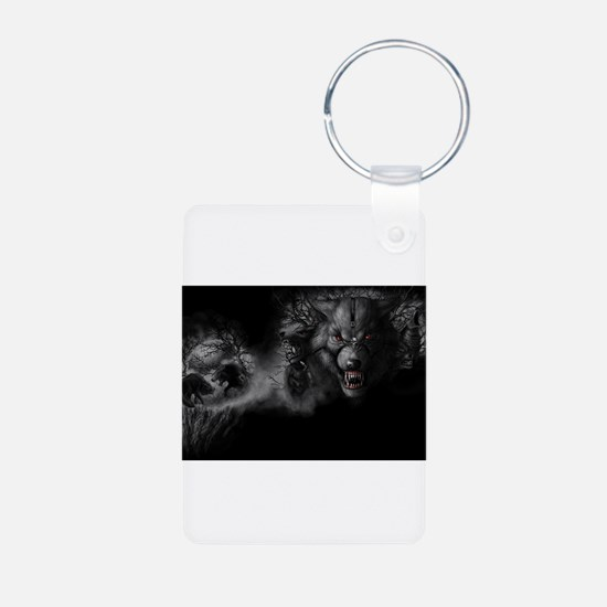 werewolf Keychains