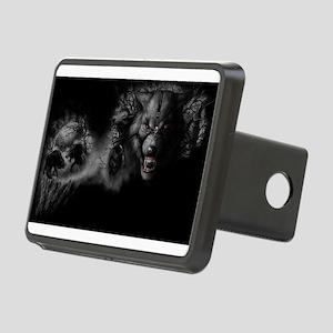 werewolf Rectangular Hitch Cover