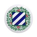 3ID Patch Ornament (Round)