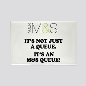 MARKS SPENCER PARODY - QUEUES Magnets