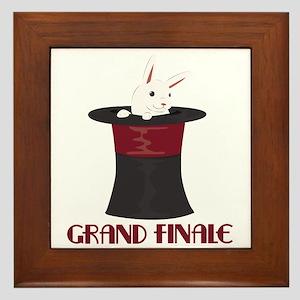 Grand Finale Framed Tile