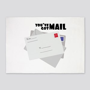 You've Got Mail 5'x7'Area Rug