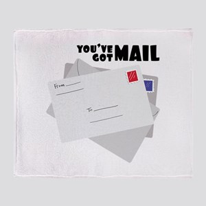 You've Got Mail Throw Blanket
