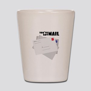 You've Got Mail Shot Glass
