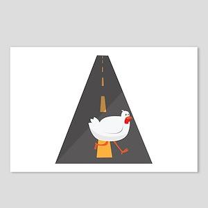 Geese Crossing Postcards (Package of 8)