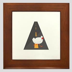 Geese Crossing Framed Tile