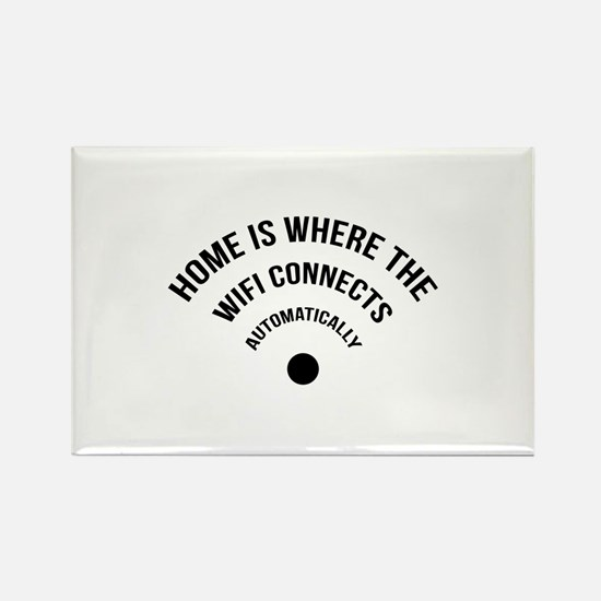 Home Is Where The Wifi Connects Automatically Rect