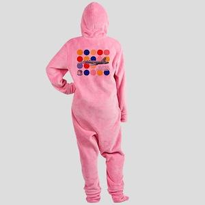 vfa2greya copy Footed Pajamas