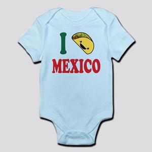 I Love Mexico Body Suit